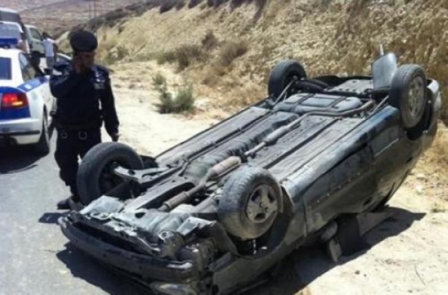 وفاة و 5 إصابات بحادث تدهور في الكرك