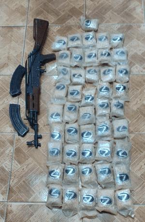 ضبط 100 الف حبة مخدرة في البادية الشمالية