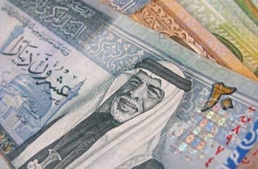 ارتفاع إجمالي الدين العام الأردني إلى 332 مليار دينار