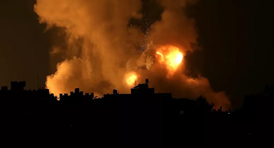 كتائب القسام توجيه ضربة صاروخية كبيرة لعسقلان