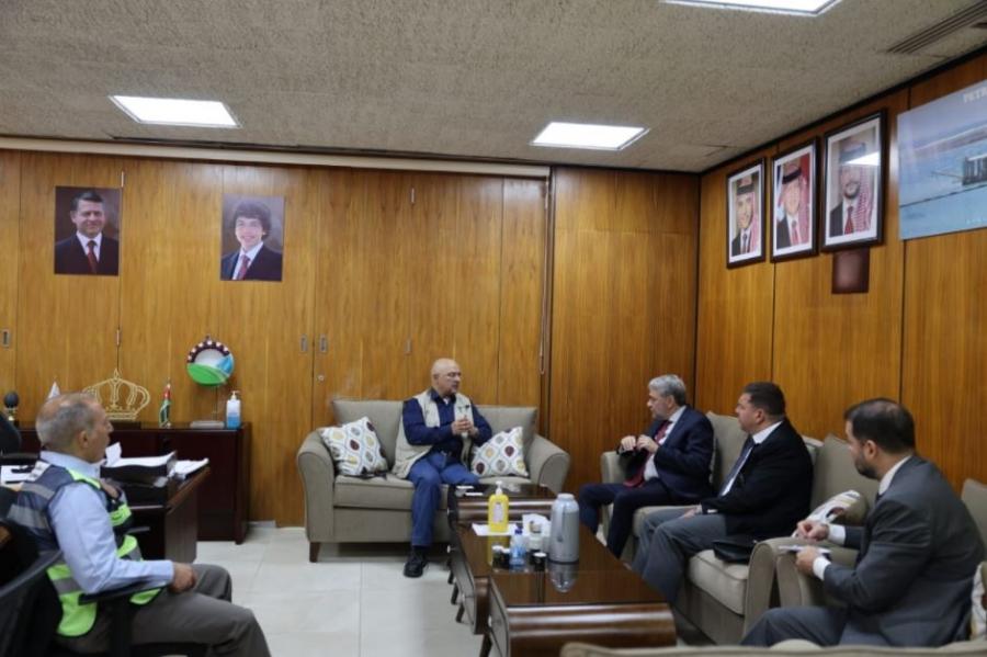 البوتاس العربية تبحث مع السفير البرازيلي في عمّان فتح مكتب تصديري لها في البرازيل