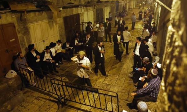 مسيرة استفزازية لمستوطنين في البلدة القديمة في القدس