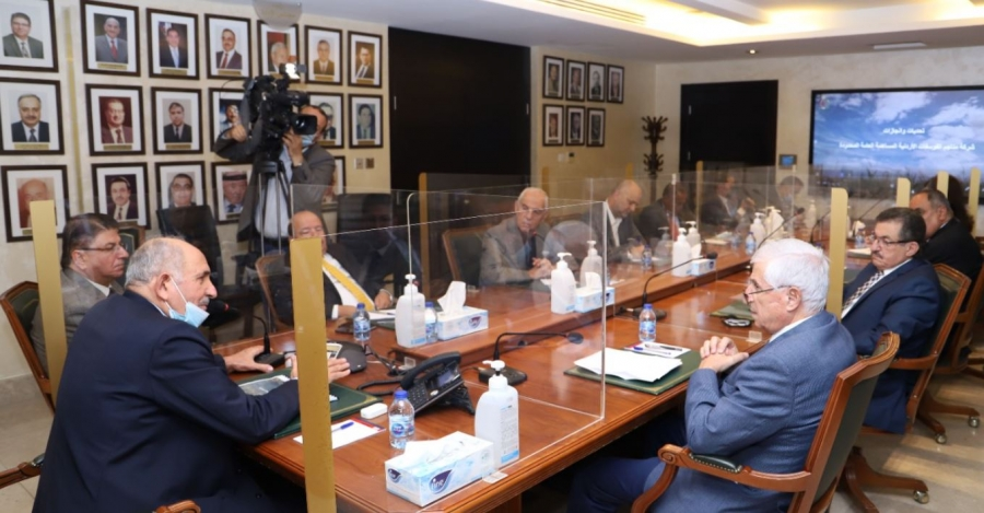 الأعيان يطلع على واقع وإنجازات شركة مناجم الفوسفات الأردنية
