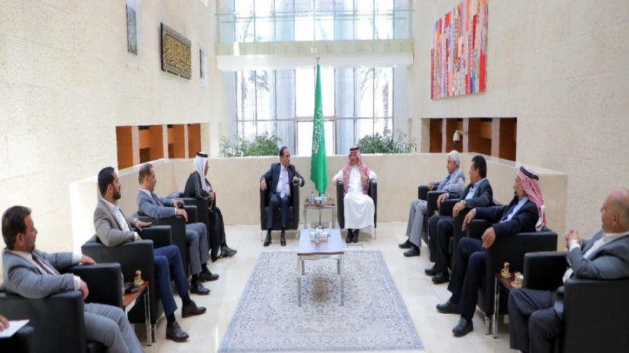 بحث تعزيز العلاقات بين الأردن والسعودية بالمجالات كافة