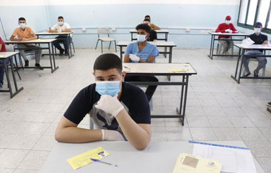 143961 طالب وطالبة توجيهي يبدأون امتحان التوجيهي