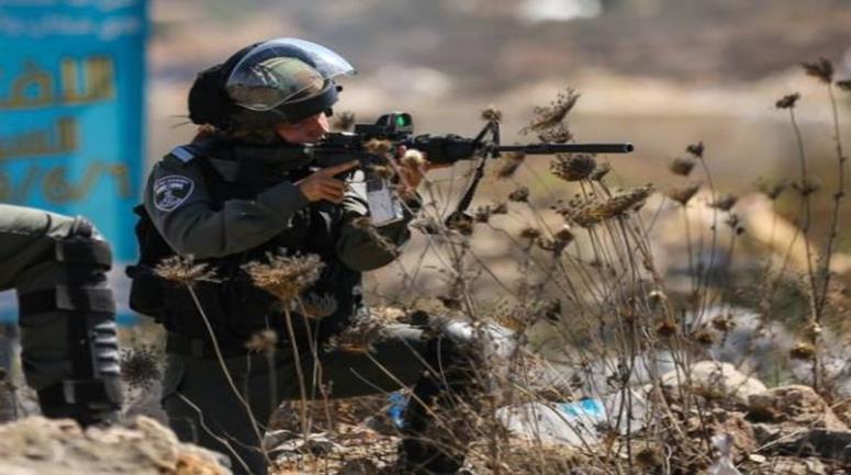 استشهاد فلسطيني برصاص قوات الاحتلال الإسرائيلي جنوبي نابلس