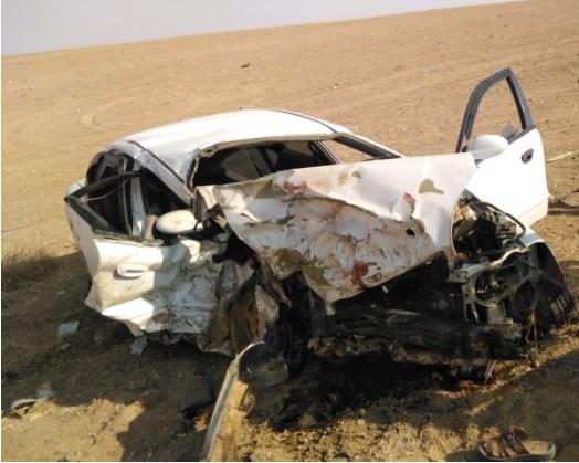 وفاتان و 3 إصابات آثر حادث سير في الكرك