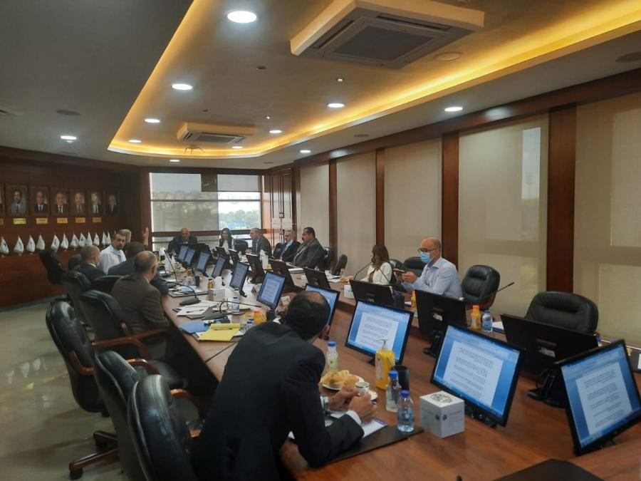 اجتماع ثاني بين اللجنة المشكلة من القطاع وممثلي الصندوق التعاوني للاطباء