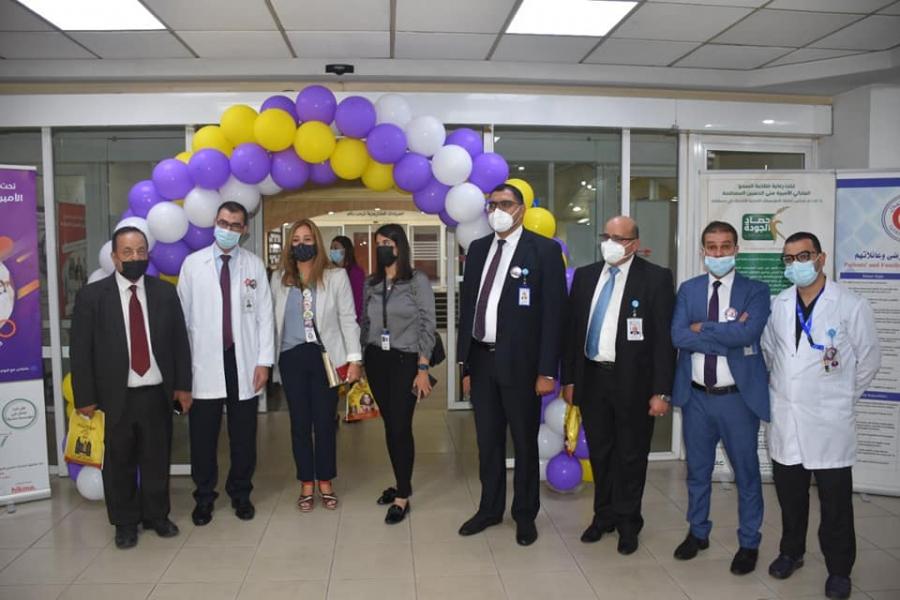 مستشفى الاستقلال ينفذ مبادرات نوعية في ادارة الجودة والخدمات الصحية- صور
