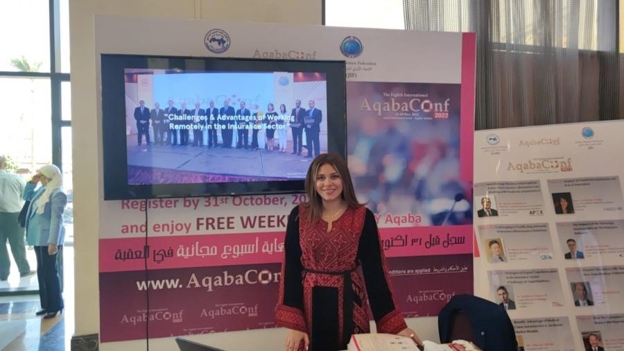 الاتحاد الأردني لشركات التأمين يروج لمؤتمر العقبة 2022 خلال ملتقى شرم الشيخ