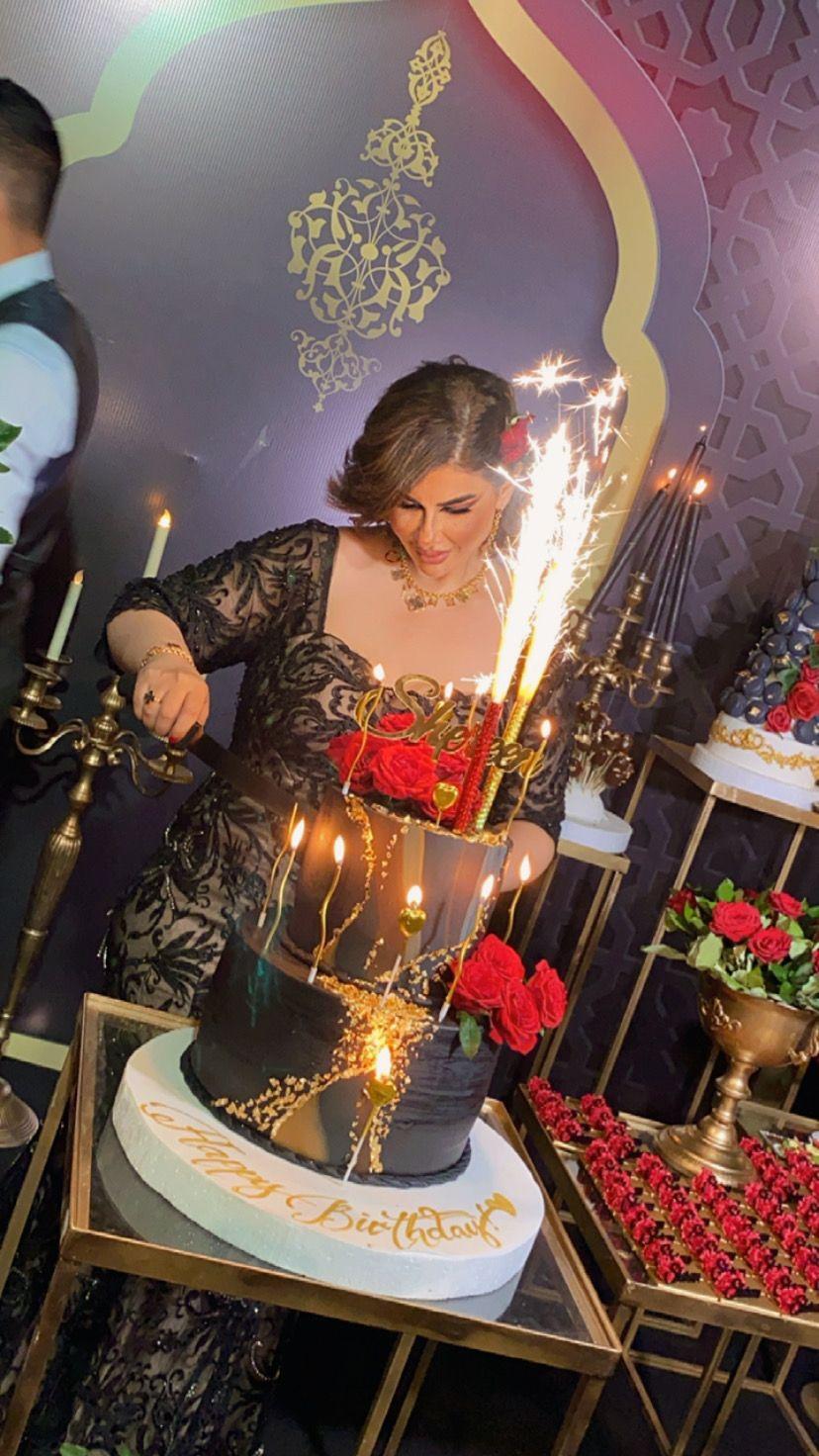سيدة الأعمال الأردنية شيرين الدعجة تحتفل بعيد ميلادها