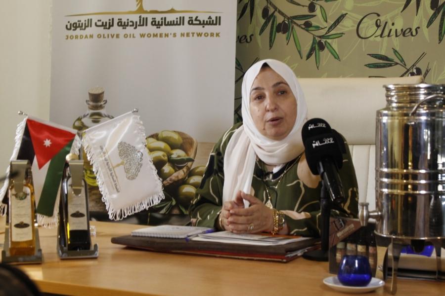 المحيسن في حوار مفتوح مع صوت عمان حول الشبكة النسائية الأردنية لزيت الزيتون - فيديو