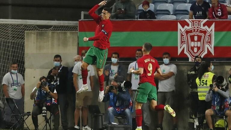 رونالدو يقود البرتغال للفوز على قطر بثلاثية