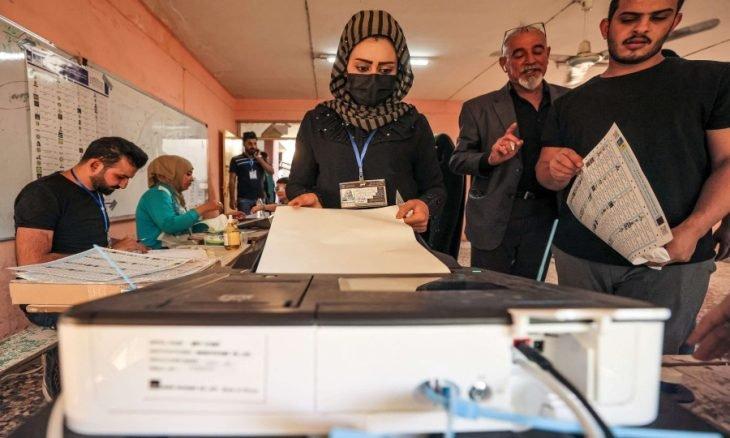 41  نسبة المشاركة في الانتخابات العراقية