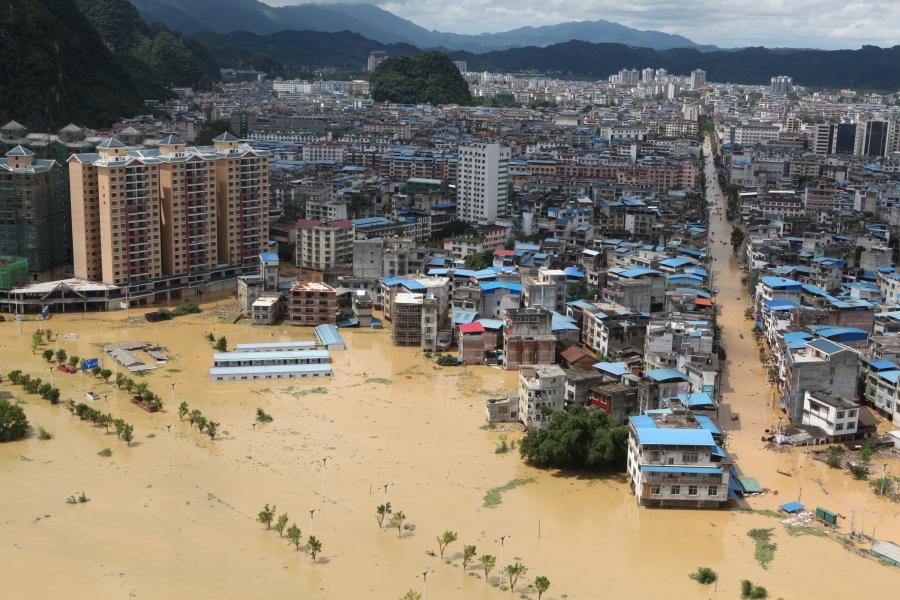 مقتل 15 شخصا وفقدان 3 جراء فيضانات بمقاطعة شانشي في الصين
