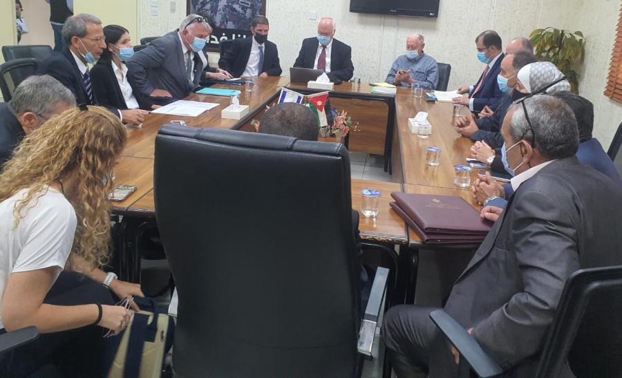 اتفاق أردني إسرائيلي لشراء 50 مليون م3 من المياه