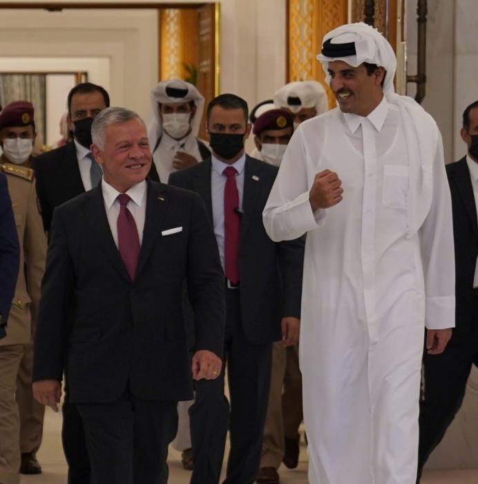 الملك سعيد بزيارة قطر وهذا ما قاله