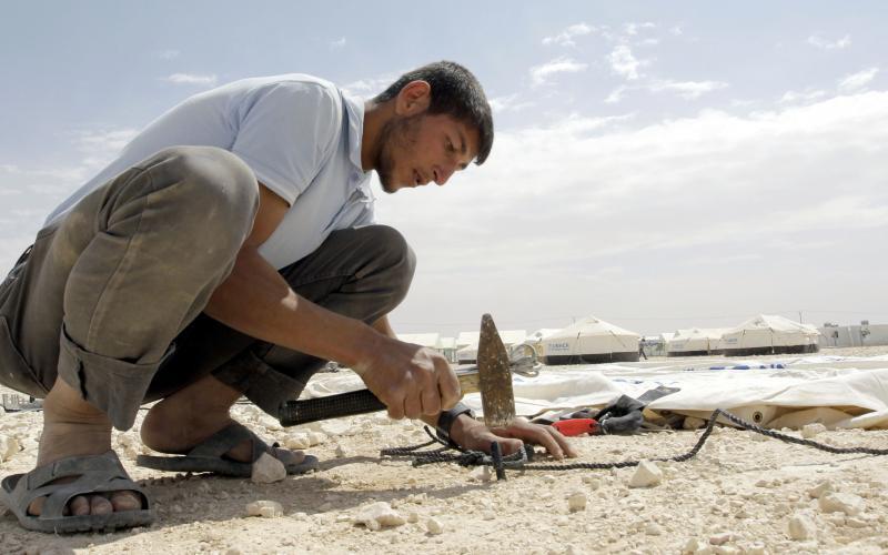 """قدرة 2"" يهدف لتوظيف 500 لاجئ سوري وشاب أردني"